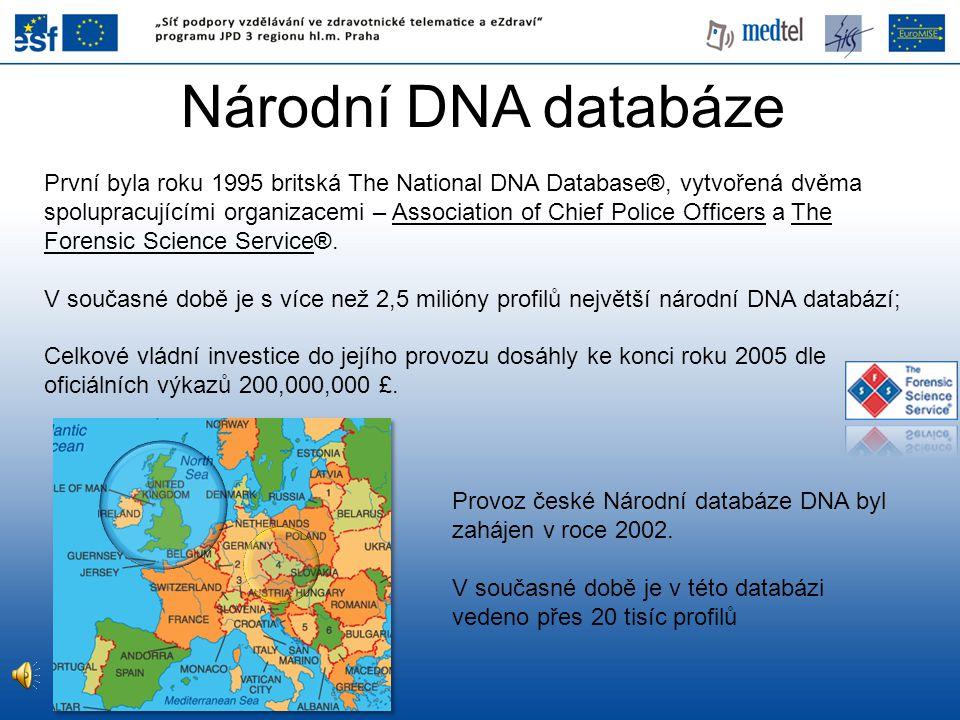 Národní DNA databáze