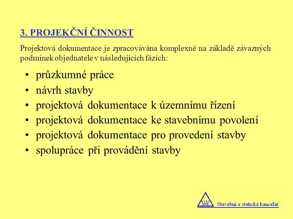 projektová dokumentace k územnímu řízení