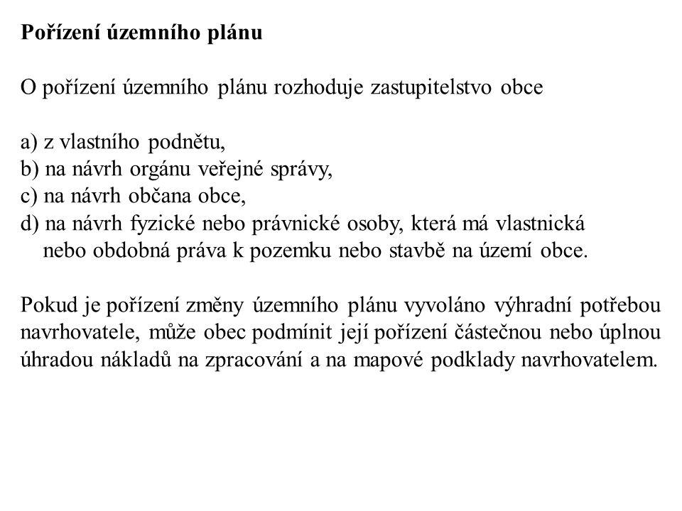 Pořízení územního plánu