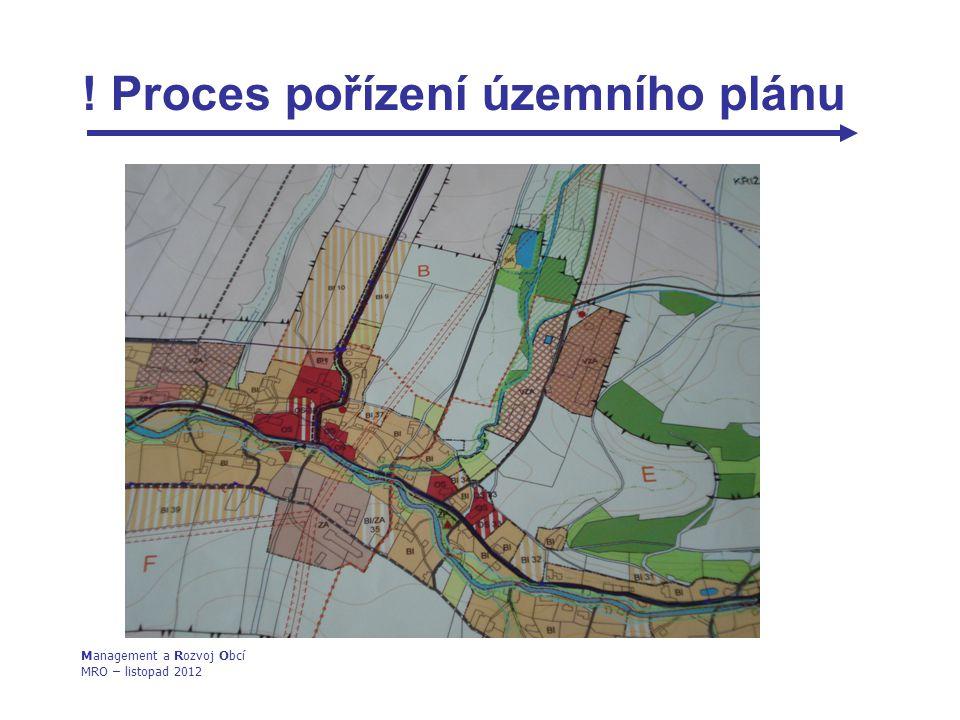 ! Proces pořízení územního plánu