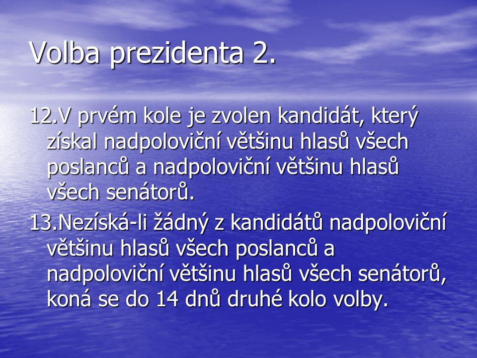 Volba prezidenta 2.
