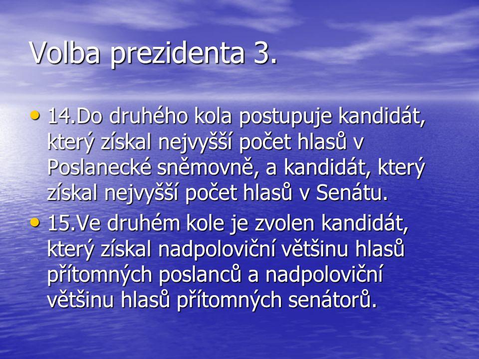 Volba prezidenta 3.