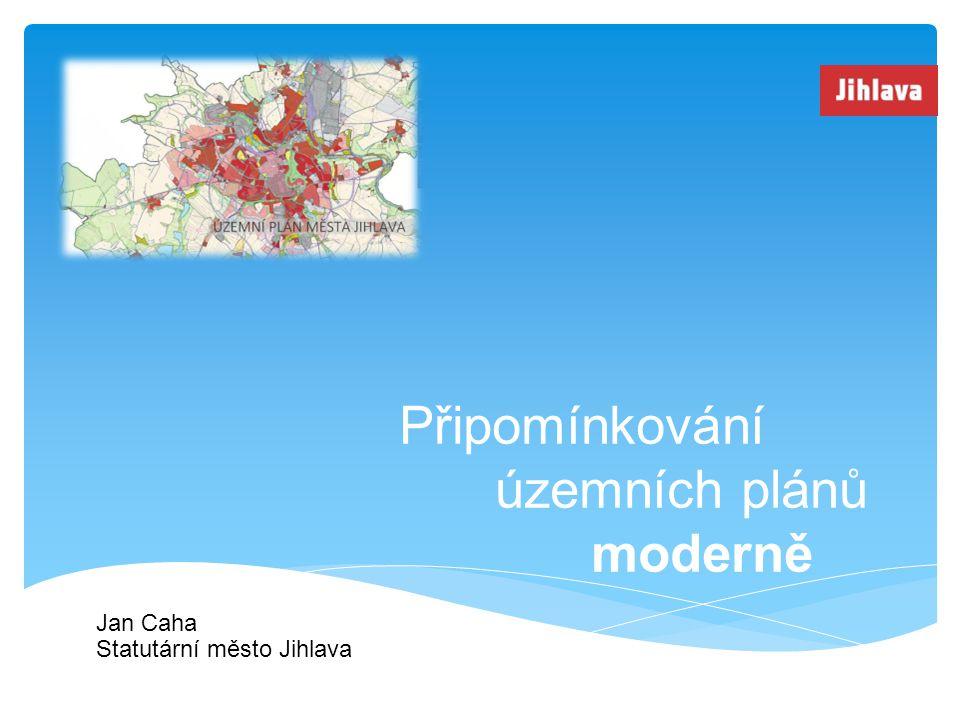 Připomínkování územních plánů moderně