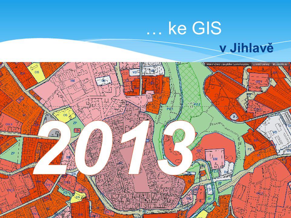… ke GIS v Jihlavě
