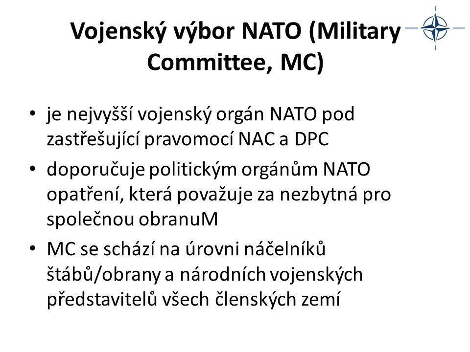 Vojenský výbor NATO (Military Committee, MC)