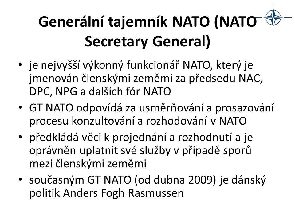 Generální tajemník NATO (NATO Secretary General)