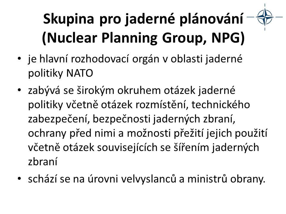 Skupina pro jaderné plánování (Nuclear Planning Group, NPG)