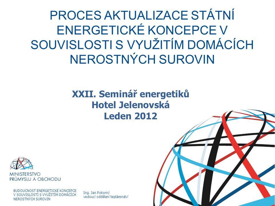 XXII. Seminář energetiků