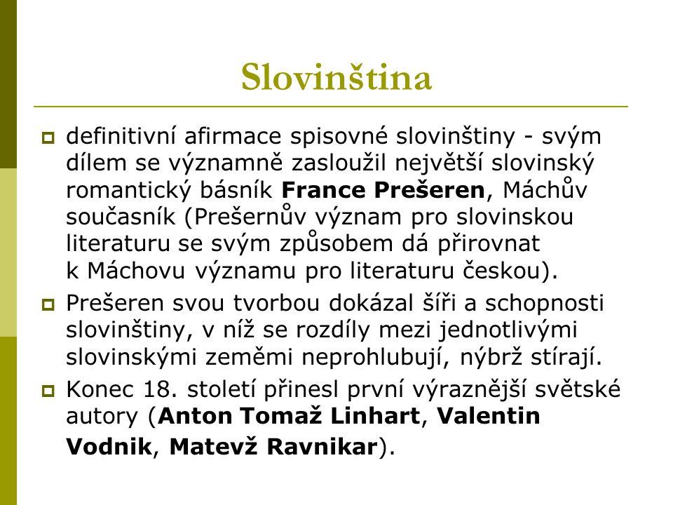 Slovinština
