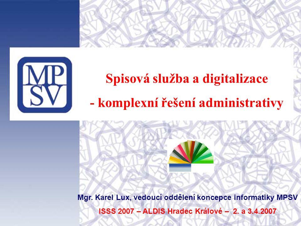 Spisová služba a digitalizace