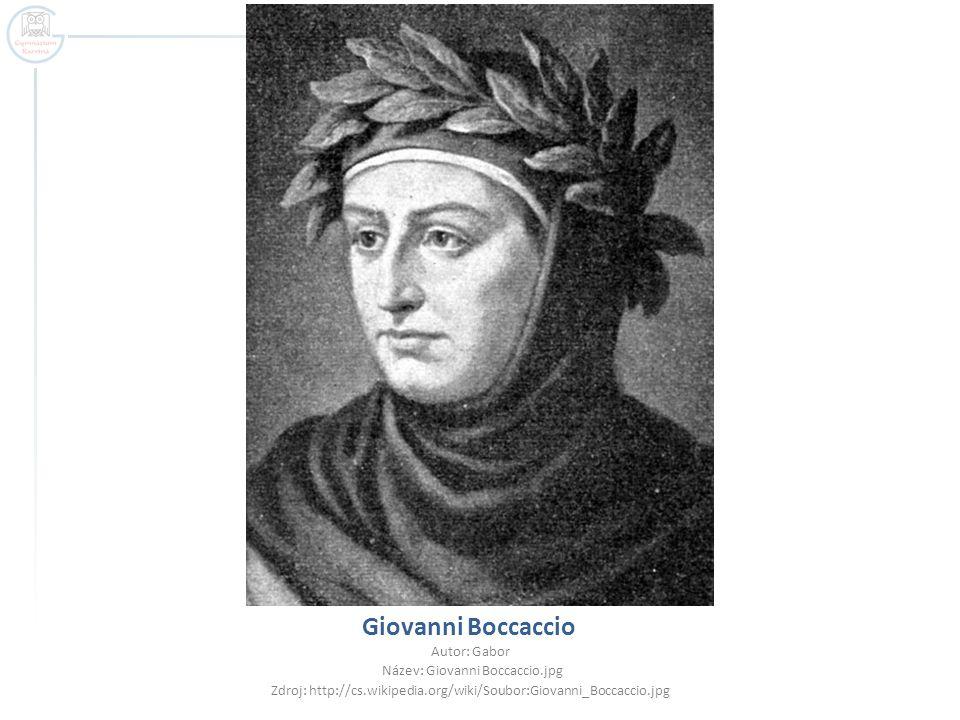 Giovanni Boccaccio Autor: Gabor Název: Giovanni Boccaccio.jpg