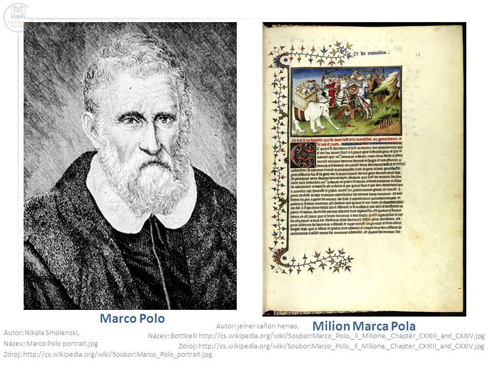 Marco Polo Milion Marca Pola