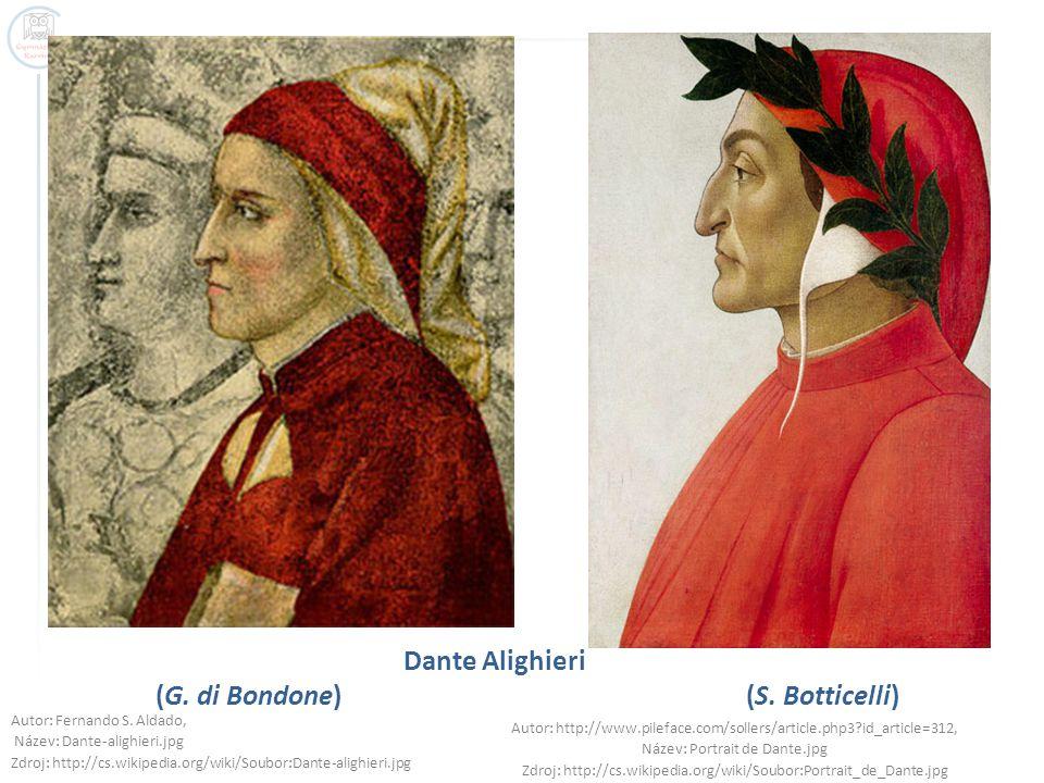 Dante Alighieri (G. di Bondone) (S. Botticelli)