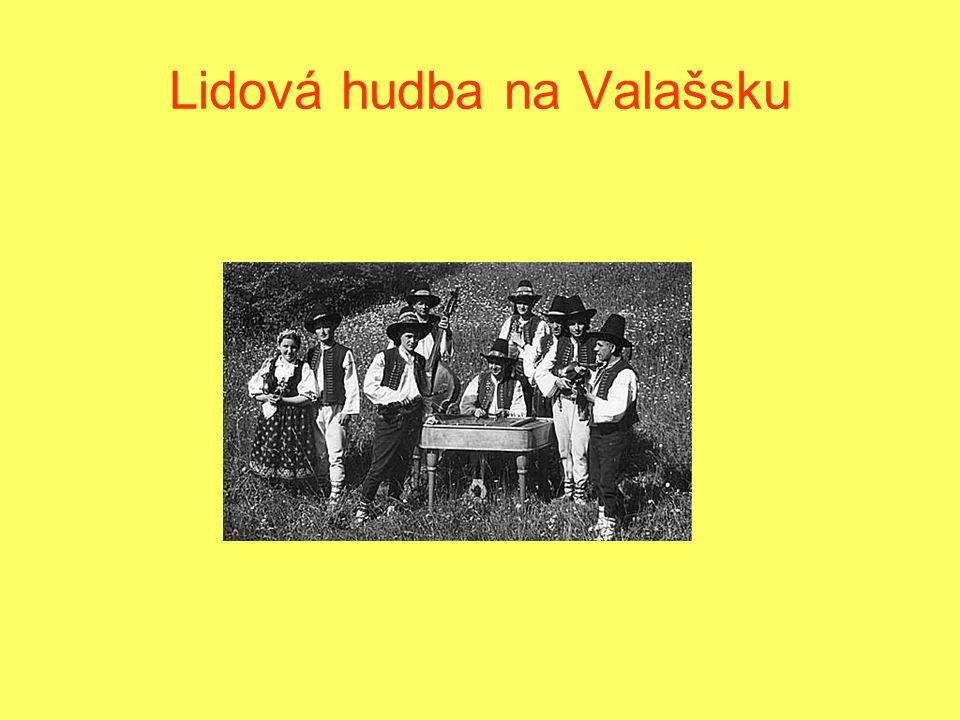 Lidová hudba na Valašsku