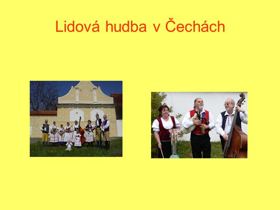 Lidová hudba v Čechách