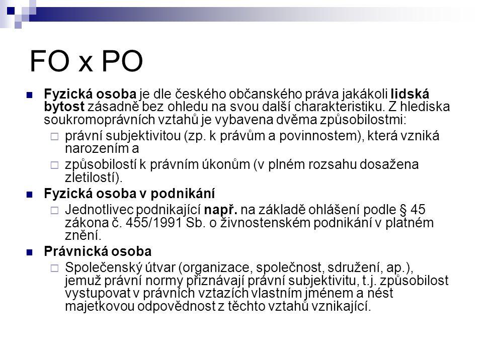 FO x PO