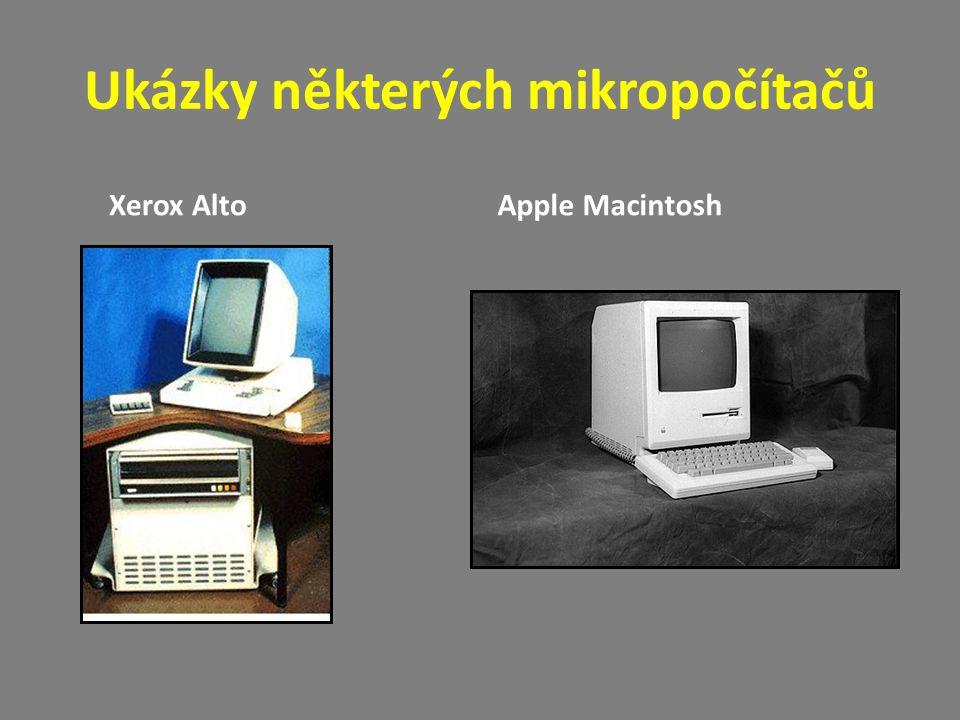 Ukázky některých mikropočítačů