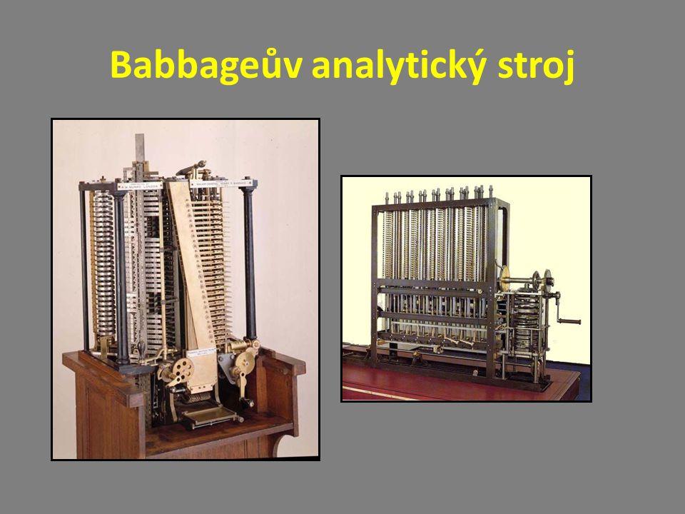 Babbageův analytický stroj