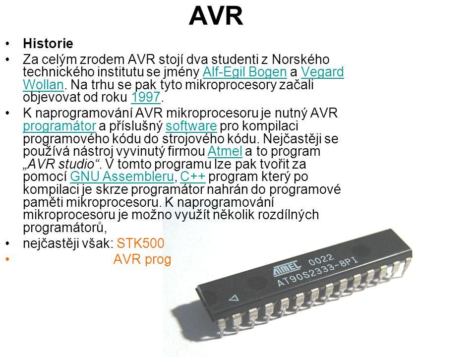AVR Historie.