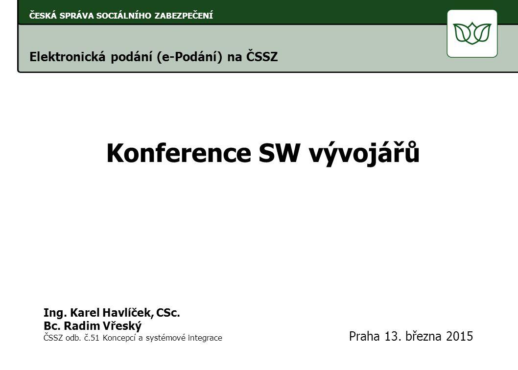 Konference SW vývojářů