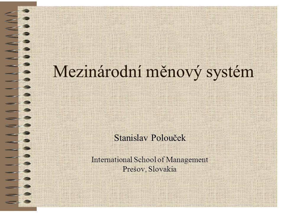 Mezinárodní měnový systém