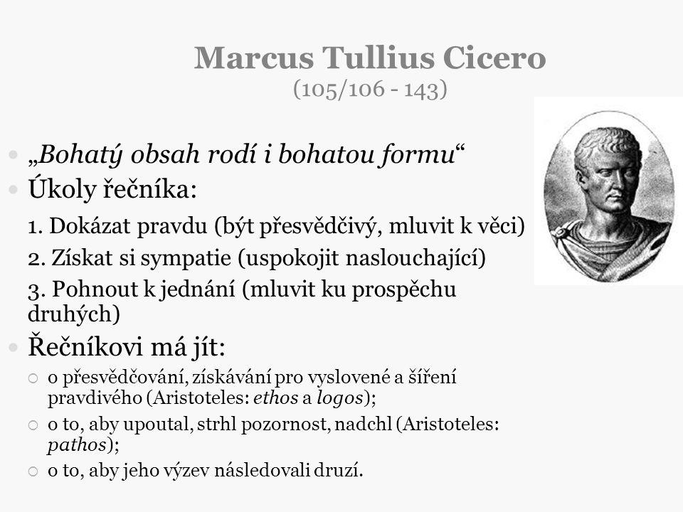 Marcus Tullius Cicero (105/106 - 143)