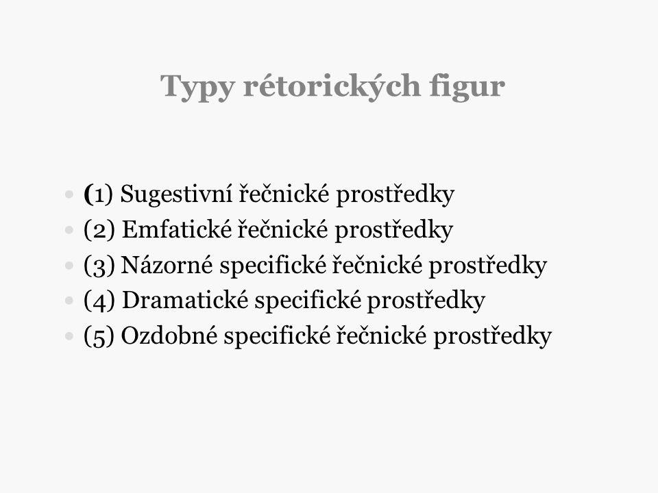 Typy rétorických figur