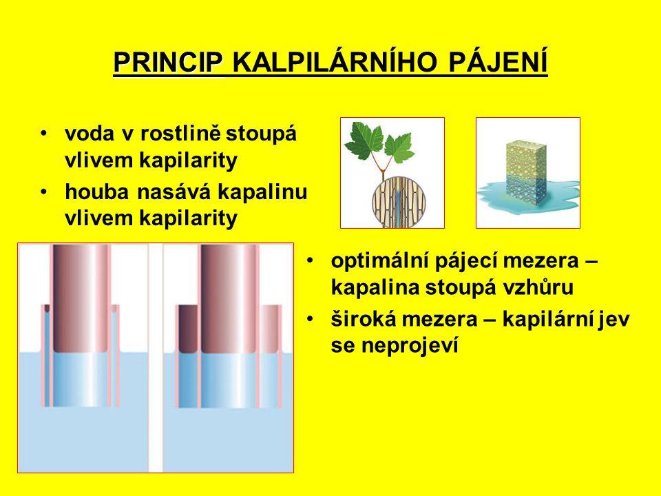 PRINCIP KALPILÁRNÍHO PÁJENÍ