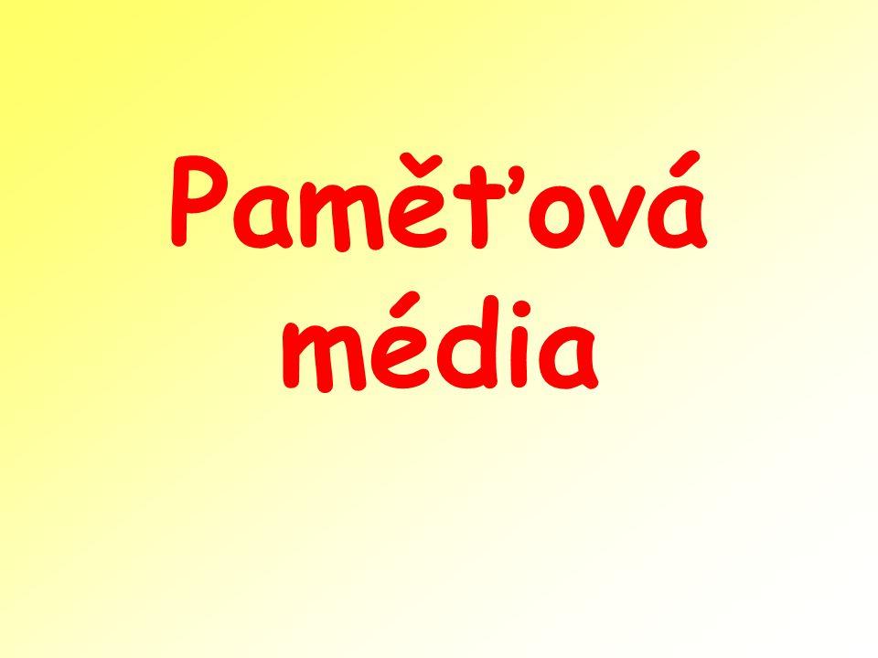 Paměťová média