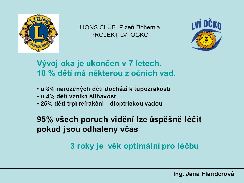 LIONS CLUB Plzeň Bohemia