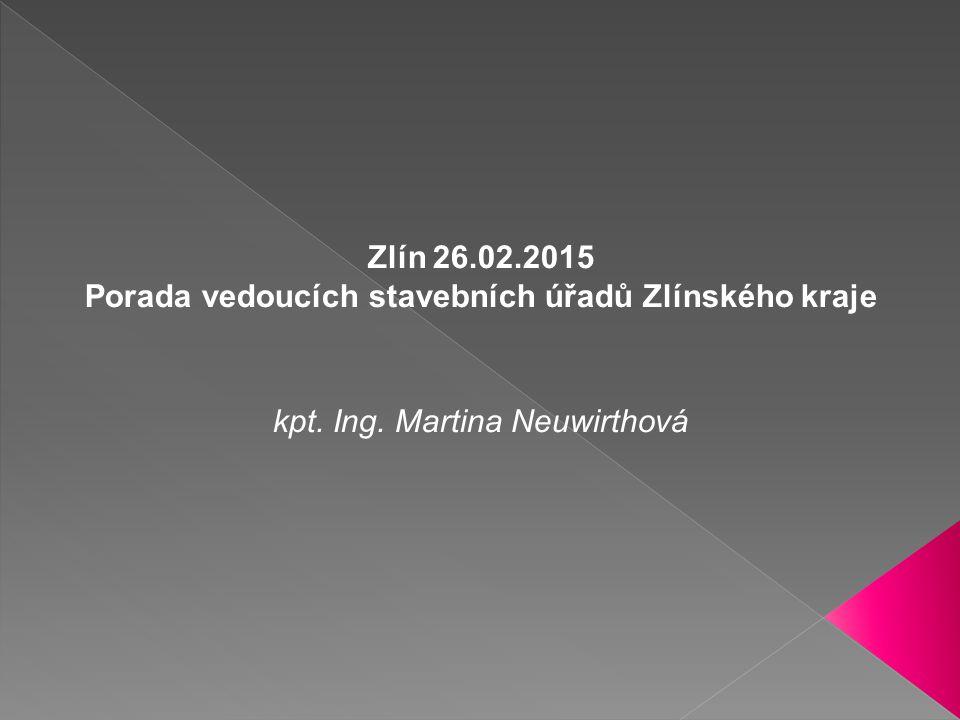 Porada vedoucích stavebních úřadů Zlínského kraje