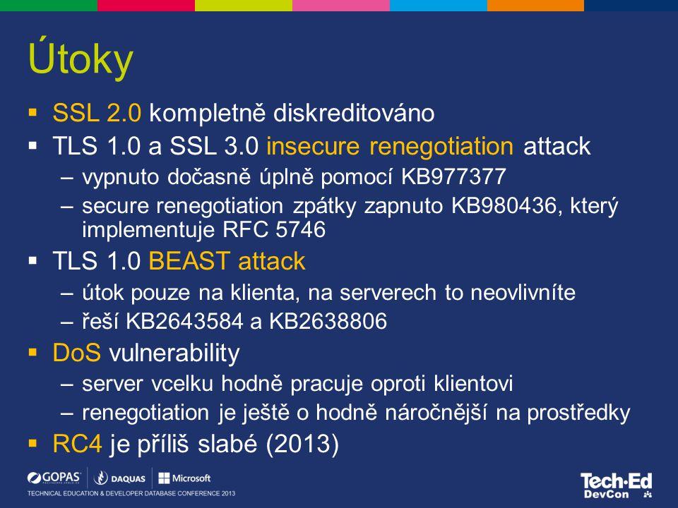 Útoky SSL 2.0 kompletně diskreditováno