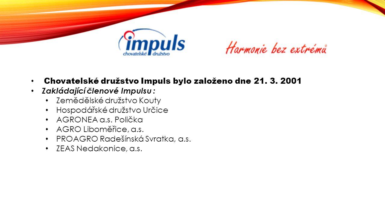 Chovatelské družstvo Impuls bylo založeno dne 21. 3. 2001