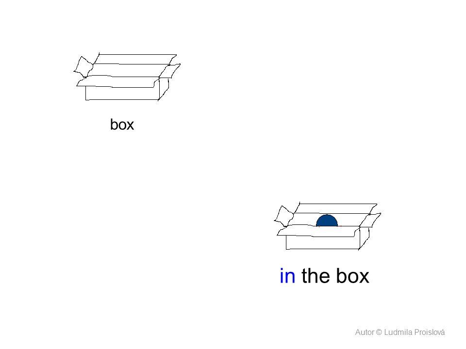box in the box Autor © Ludmila Proislová