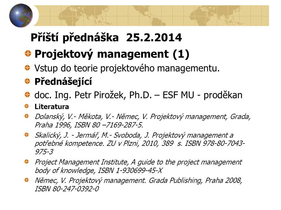 Projektový management (1)