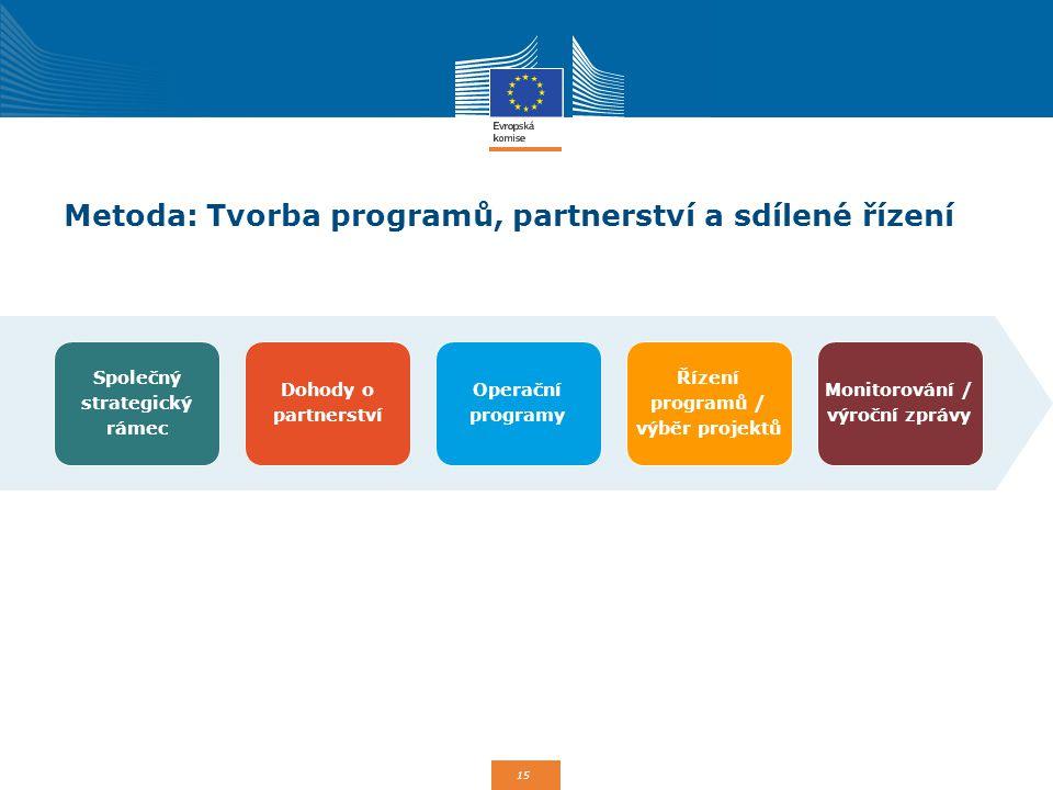 Metoda: Tvorba programů, partnerství a sdílené řízení