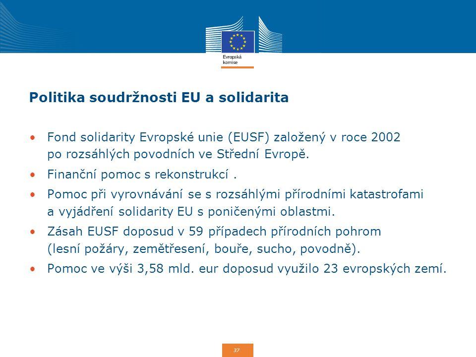 Politika soudržnosti EU a solidarita