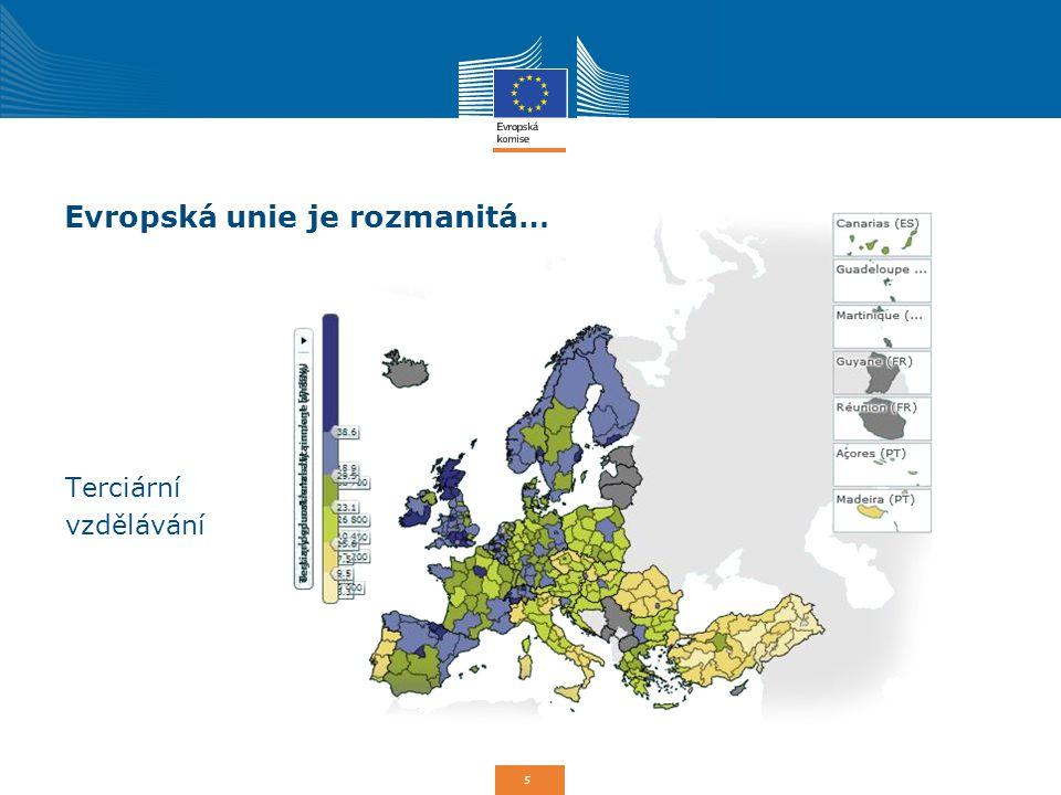 Evropská unie je rozmanitá…
