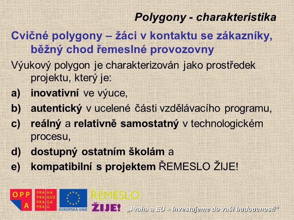 Polygony - charakteristika