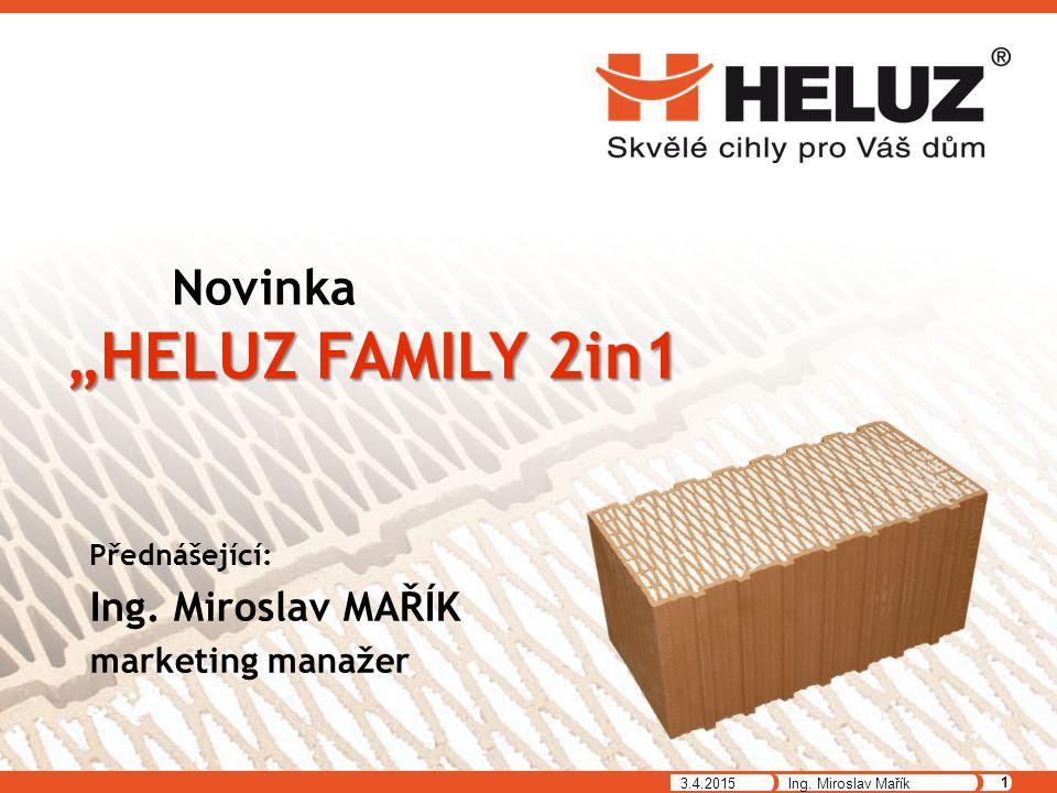"""Novinka """"HELUZ FAMILY 2in1"""