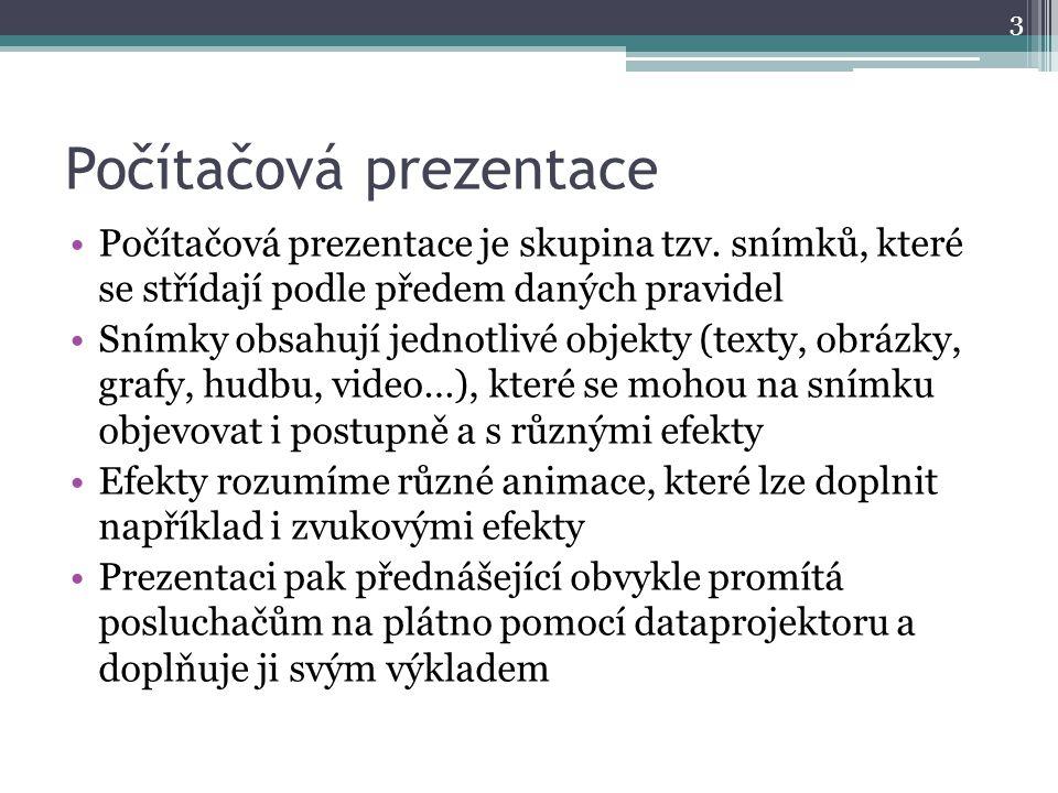 Počítačová prezentace