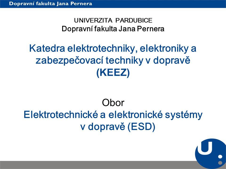 Elektrotechnické a elektronické systémy v dopravě (ESD)