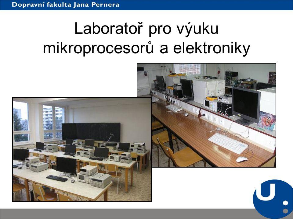 Laboratoř pro výuku mikroprocesorů a elektroniky