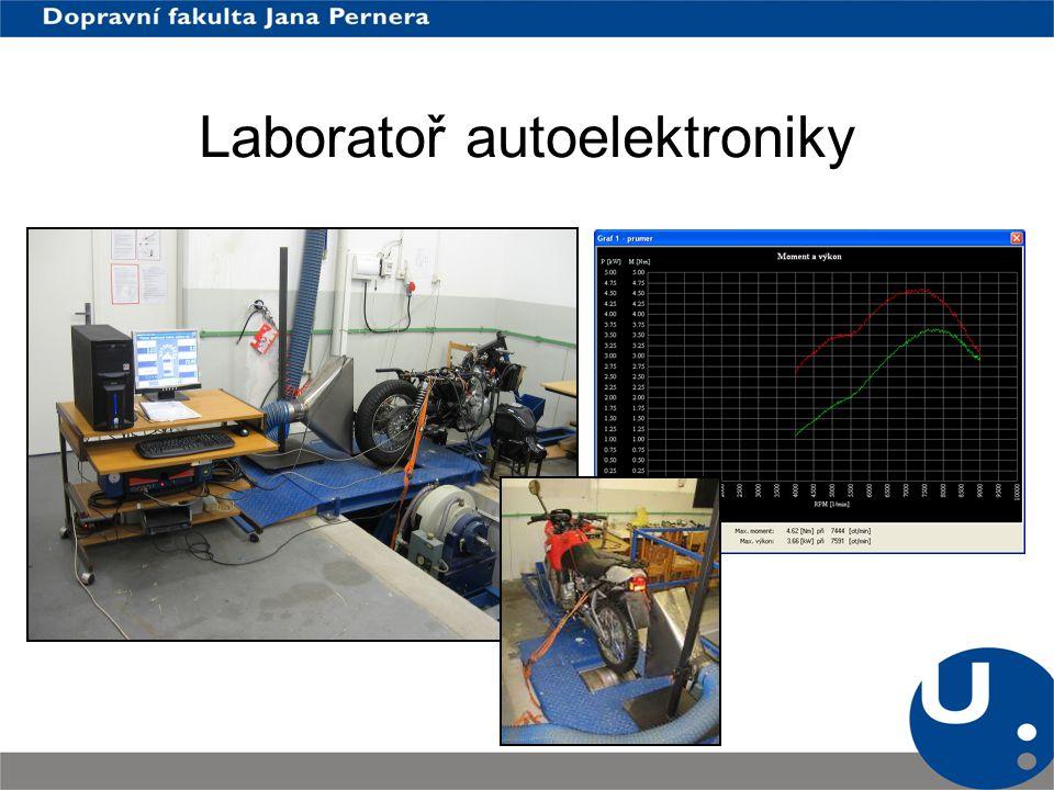 Laboratoř autoelektroniky