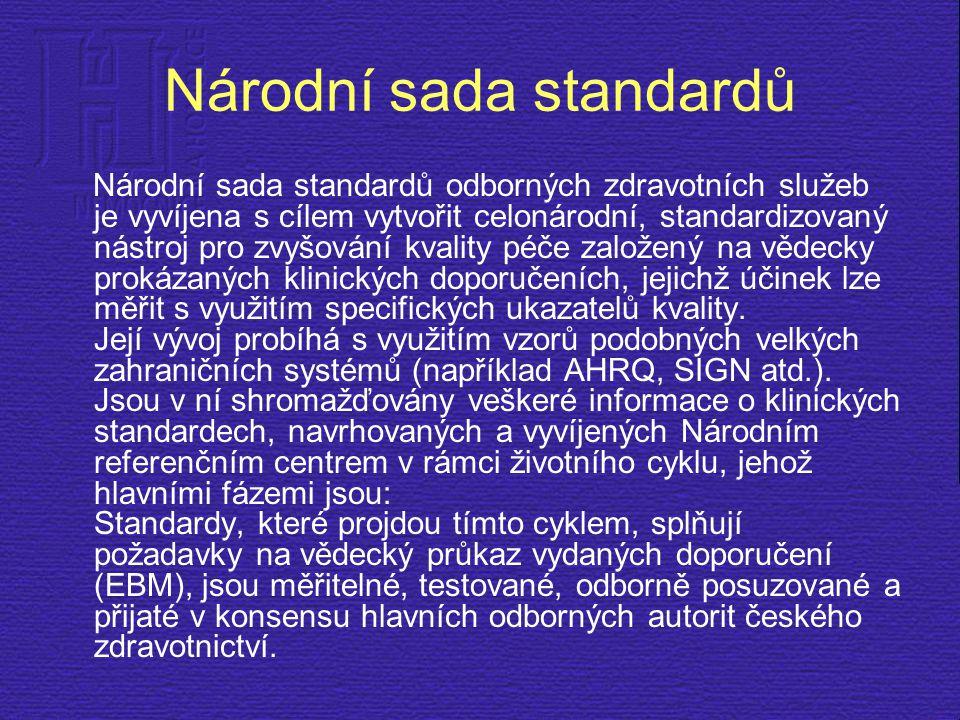 Národní sada standardů