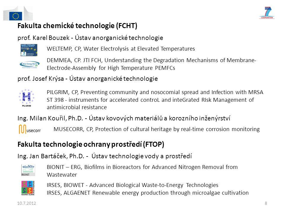 Fakulta chemické technologie (FCHT)