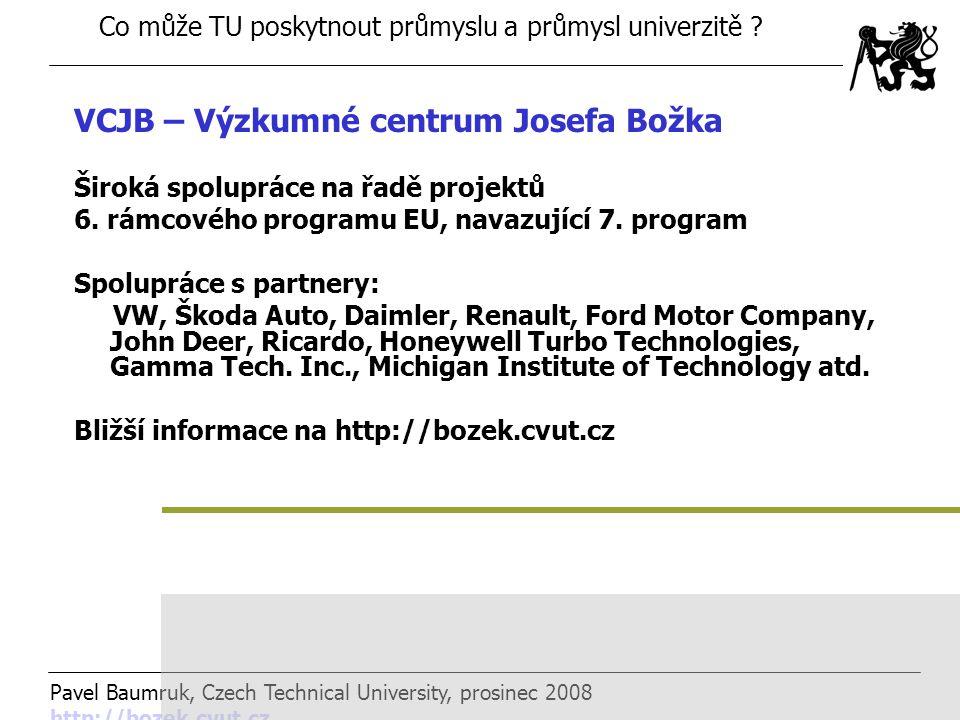 VCJB – Výzkumné centrum Josefa Božka