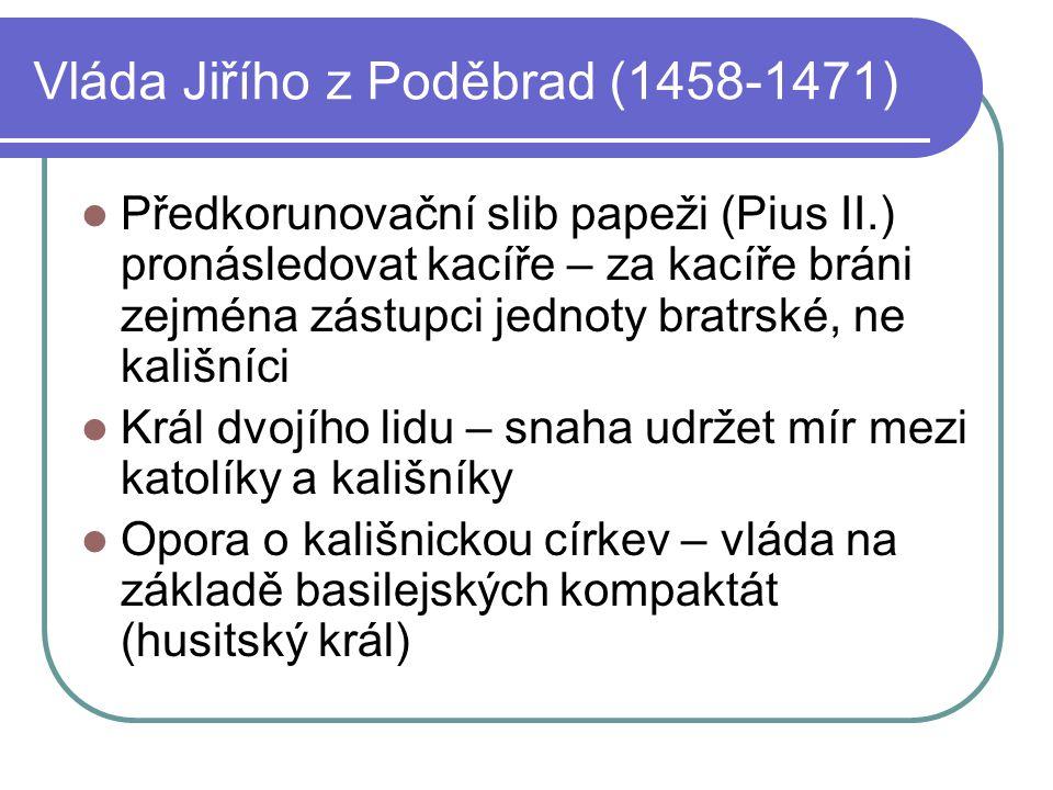 Vláda Jiřího z Poděbrad (1458-1471)
