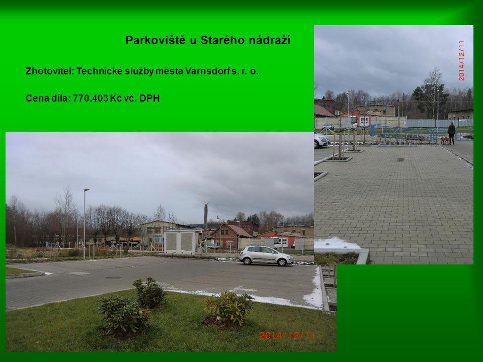 Parkoviště u Starého nádraží