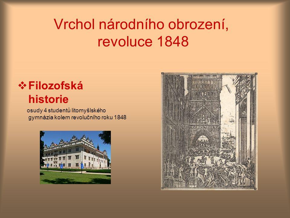 Vrchol národního obrození, revoluce 1848